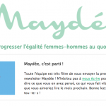 Newsletter de Maydée d'octobre 2017