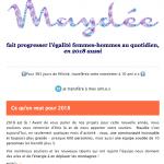 Newsletter Maydée de janvier 2018
